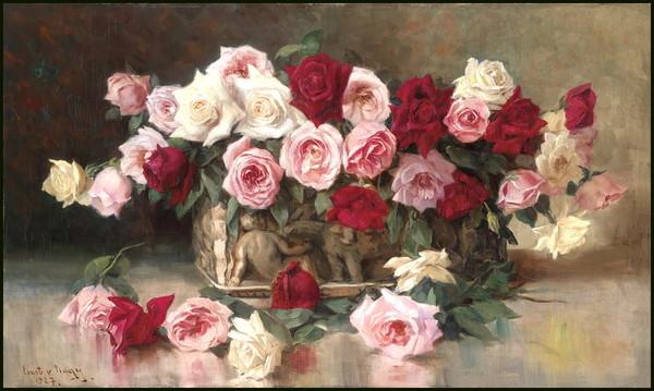 Tableau Roses 02